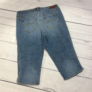 Tommy Hilfiger Denim Capris Womens Size 10 Blue